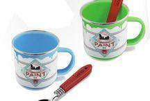 Mugs originaux / Le petit déjeuner est important alors autant le prendre dans un mug original n'est-ce pas ?