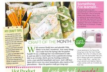 In the Press / Features of Craft Consortium and our products in the press and craft publications
