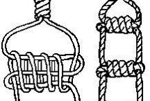 rope knots and stuff
