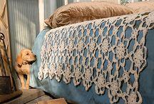 Crochet blankets & pillows