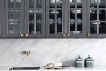 Grey kitchen // interior