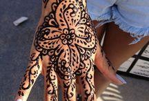 Henna tatoos / by Jenn Murdock