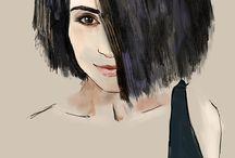 Цифровые портреты