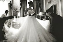 No marriage, just the dress! / Bridal things!