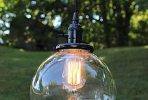 Pendant Lighting / Beautiful pendant lighting handmade in the LightLady Studio.