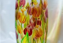 painting glass / by Vera Zvereva