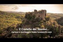 paesaggi e luoghi / il castello dei vescovi una struttura di prima del 400 che era utilizzata come rifugio dai Vescovi durante le guerre con il Comune