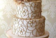 Gold & White Weddings
