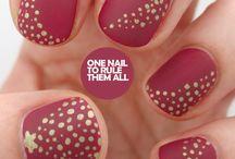 Nail art / Inspirations Nail Art. Trouvez tous les produits nécessaires à vos réalisation sur www.coiffdiscount.fr