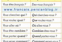 Vive le français - les questions