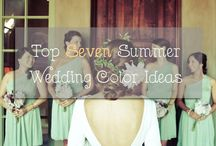 Summer Wedding Ideas / Summer is the most popular season for weddings due to its so many beautiful wedding locations, fun decoration ideas and stunning flower options. From color palettes to centerpieces to cakes, get tons of inspiration for a summer wedding from this board:)