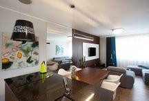 InspirationStudio realizacje / Mieszkania i meble zrealizowane wg projektów InspirationStudio