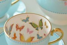 Beautyfull tea and coffee cups