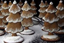 Pynting av pepperkaker / Bilder av pent pynta pepperkaker. Til inspirasjon.