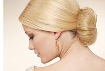 Sleek Low Bun Wedding Hairstyle