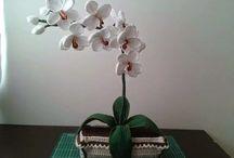 Orchidee uncinetto ed altro