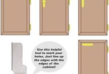 Cabinet handles location