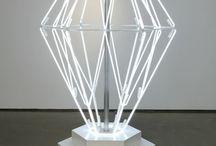 neonowe lampy