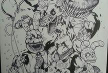 fnaf drawings