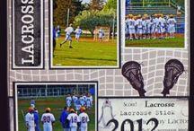 Lacrosse Scrapbooking / Scrapbooking Lacrosse layouts & products