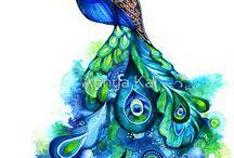 Future peacock tattoo