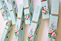 DIY clothespins