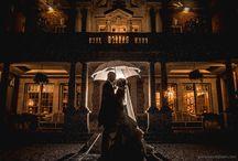 Wedding Photographs in the rain / Wedding photographs taken in the rain