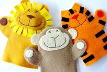 Selvagens (Animais) / Wild Animals / Kids Crafts