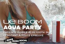 Inspiration UE Boom Aqua Party - Very Good Moment / Et si vous passiez votre premier Springbreak à domicile avec Ultimate Ears ? Faites partie des 20 privilégiés à avoir la chance de recevoir le Kit #UEBoomAquaParty pour vous immerger dans l'esprit summer party : musique, folie et démesure seront au rendez-vous !