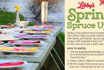 Libby's Spring Spruce Up / by Dana Rodriguez