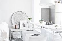Hvitt interiør ❤