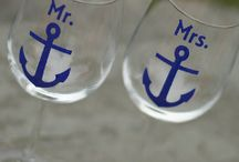 Nautical Wedding Inspirations / Nautical Wedding Ideas