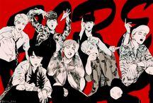 K-pop fan art