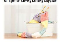 Knitting Stuff / by Janie Schisler