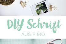 ▴ DIYs mit Knete, Fimo und Co. ▴