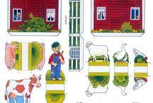 házi állatok/farm