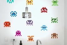 Stickaz, Puzzle Pixel Art / Stickaz is a new decoration concept, inspired by pixel art and puzzles.
