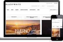 Diseño tienda Online Black & White