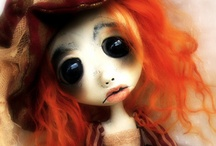 Art Dolls / This is all about one of a kind dolls made by great artists! / by Connie Foster Bissell