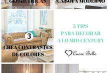 Deco Lovers / Tendencias decoración, TIP's y recomendaciones para DECO LOVERS.