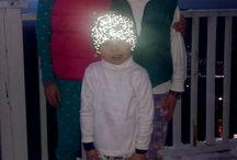 Reflective headband knitted