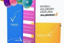 """Konkurs """"Kolorowy grzejnik na Wielkanoc""""! / Weź udział w konkursie! Wygraj kolorowy grzejnik Purmo!"""