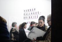 Exhibition: Hannah Ballhaus-Brinkies / Some Impressions from the exhibition with Elisabeth Wieser  Einige Eindrücke von Ausstellungen mit der Künstlerin Hannah Ballhaus-Brinkies  #HannahBallhaus-Brinkies #Karinwimmercontemporaryart #art #munich #exhibition