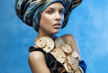African Beauties: Hair, Fashion & Textiles  / by Jackie Pena