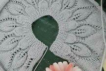 tejer con agujas circulares