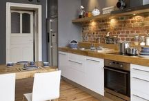 kitchen / modern, kitchen, block colours,