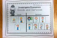 kindergarten social studies - goods and services