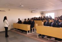Guest Lecture for the students of MBA was organized on 7 Feb, 2015 / Guest Lecture for the students of MBA was organized on 7 Feb, 2015. Ms. Monika Koshy-Founder Nurture Software Solutions Pvt. Ltd. from Bangalore comes all the way to share her experiences. She discussed her entrepreneurship journey with the Students and shared her practical experiences to be a successful entrepreneur. She Shared the Strategies with students which are key to be a Successful entrepreneur. Students enjoyed the interactive & learning session with Ms. Monika Koshy.