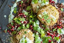 Vegetarian dishes / Vegetarian recipes or great vegetarian dishes served to us at restaurants.