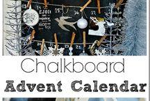 advent calendars / Handmade Advent calendars